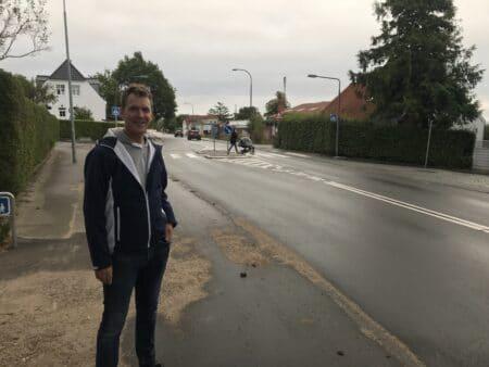 Beboere på J.P. Larsens Vej: Fartdæmpning virker ikke godt nok