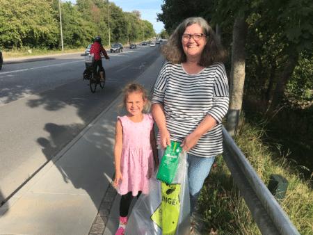 Klar til at holde Silkeborgvej ren og pæn igen