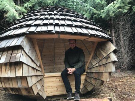 """Nu kan du besøge ny """"hemmelig"""" shelter i True Skov"""