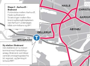 Ny rapport: Vigtigt med genåbning af Brabrand Station