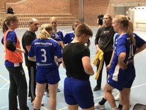 Brabrands håndboldkvinder tæt på at snuppe et point fra topholdet