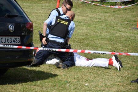 To mænd dømt for at forsøge kniv-angreb på Paludan