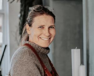 Anette Skydt-Nielsen er flyttet hjemmefra med sit blomsterværksted
