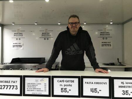 Mortens Madvogn er blevet en kæmpe succes i Brabrand
