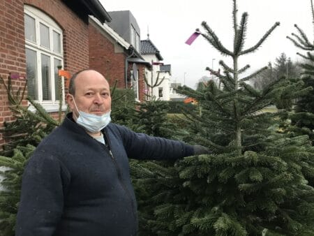 Han er fast leverandør til julen i Brabrand