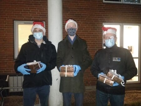 Netto skabte glæde og julestemning i Brabrand Boligforening