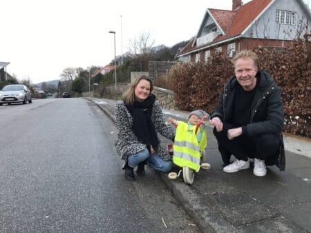 Børnefamilier er trætte af hurtige biler på Brabrand Skovvej