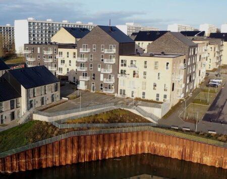 Det første private boligbyggeri i Gellerup er nu fuldt udlejet