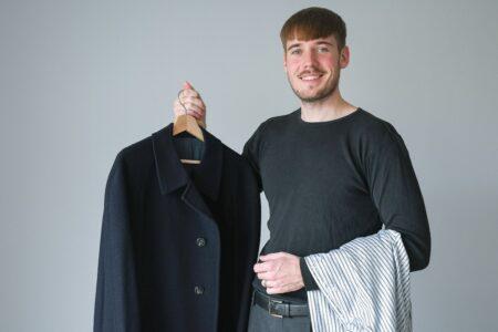 Online-shop med base på Edwin Rahrs Vej skal få mænd til at købe genbrugstøj