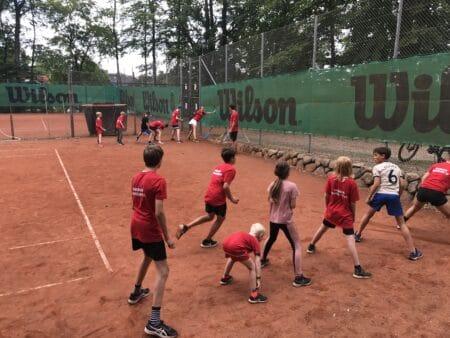 Nye medlemmer strømmede til tennisbanerne i Brabrand Bakker