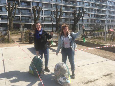 Affaldsindsamling i Brabrand gav resultater i sækkevis