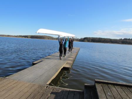 Aarhus Studenter Roklub: Fællesskabet florerer på Brabrand Sø