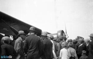 90 år siden: Holger Høiriis hyldet for at flyve over Atlanten