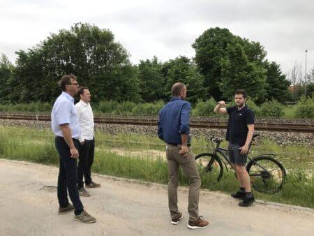 Politiske forhandlinger om genåbning af Brabrand Station