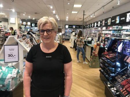 40 års jubilæum som butikschef i Matas i City Vest