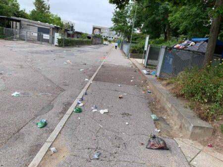 Affald i Gellerups gader frustrerer beboerne