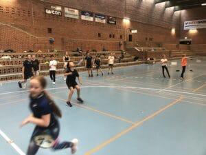 Badmintonskole i Brabrand med OL-jubel og besøg af TV2