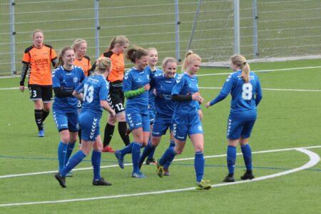 Brabrands kvinder snuppede førstepladsen med 3-1- sejr over Odense Q