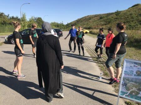 Løbetræning skaber fællesskab i Hasle Bakker