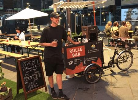 Øl-innovation: Aarhus Nanobryg cykler ud og møder kunderne