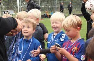 Brabrand IF Fodbold uddelte 176 medaljer til skoleturnering
