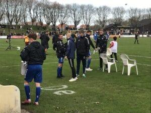 Brabrand endte som statister i Fremads fodboldfest
