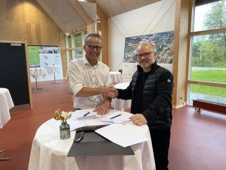 Udsolgt: Brabrand Boligforening sælger sidste stykke jord til A. Enggaard